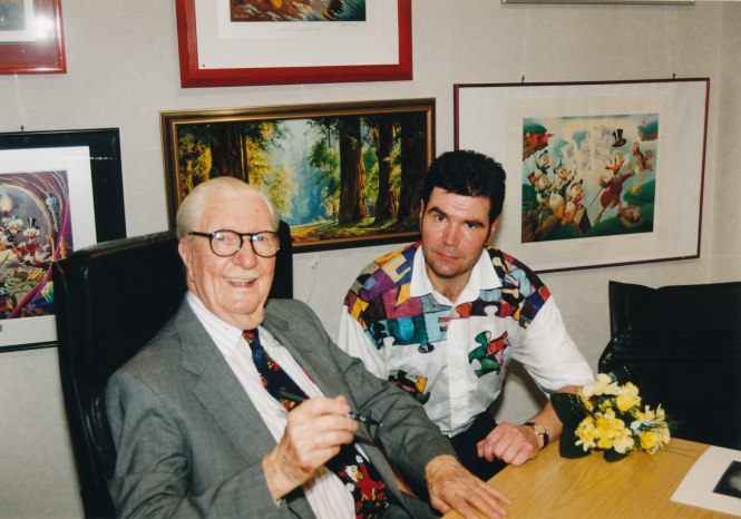 Mr. Carl Barks and me_0002