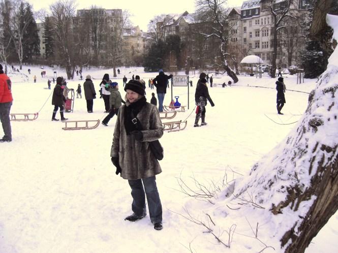 zugefrorener Klarensee