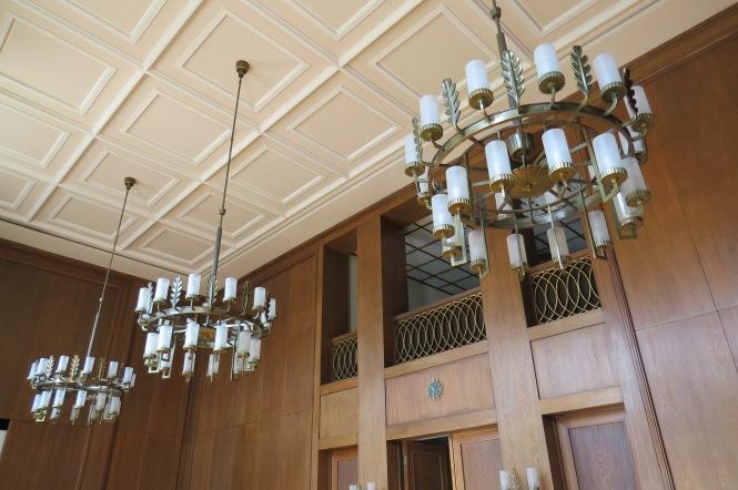 Eichensaal aus der Zeit des NS-Regimes