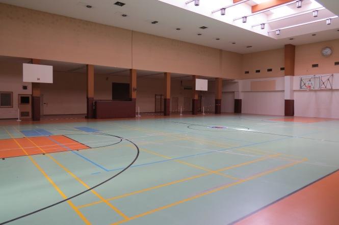 Basketballhalle der US-Streitkräfte