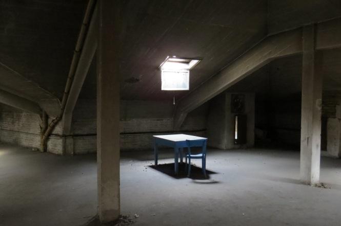 Dachboden des Hotels