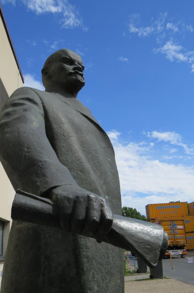 Lenin auf dem Gelände der Fa. Zapf