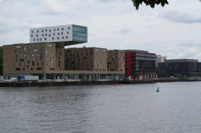 Aussicht vom Kreuzberger Ufer