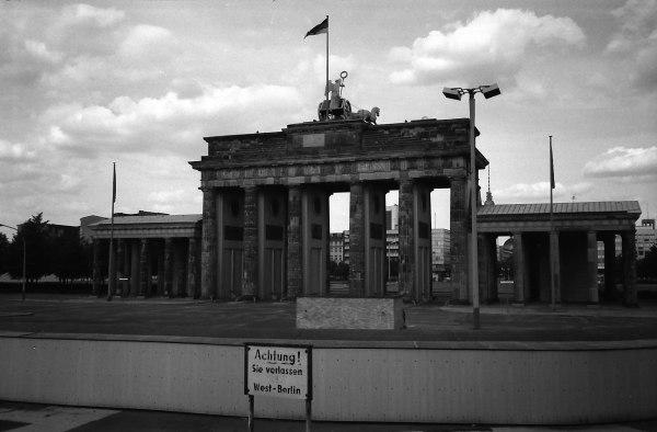 Brandenburger Tor, Mai 1980