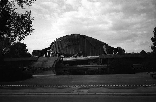 Kongresshalle, Mai 1980