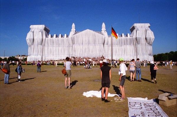 Reichstagsverhüllung 1995