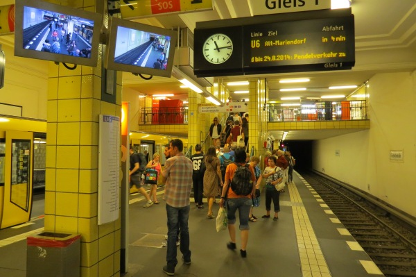 U-Bahnhof Friedrichstraße