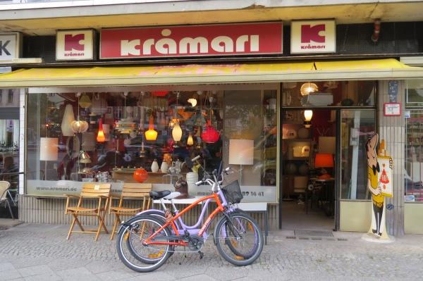 Lampenladen an der Gneisenaustraße