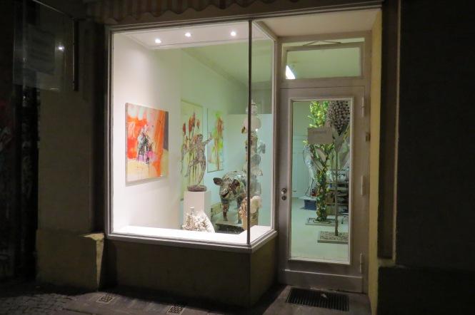 Galerie in der Falckensteinstraße