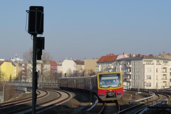 Blick vom S-Bhf. Südkreuz