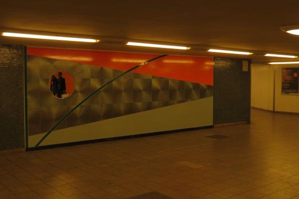 im U-Bahnhof Alt Tempelhof