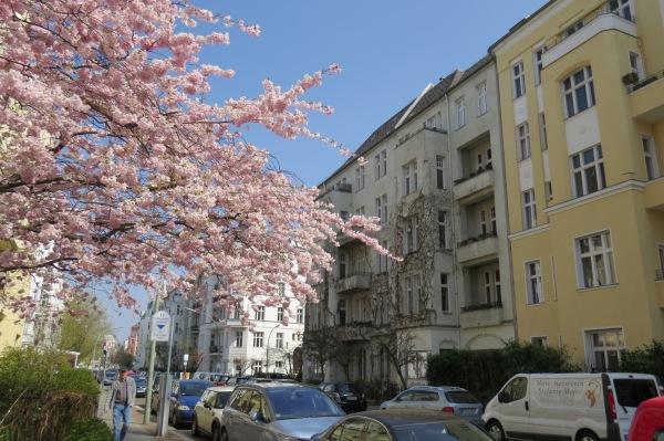 unsere ehemalige Mietwohnung im 4. Stock der Ansbacher Str., Ecke Regensburger
