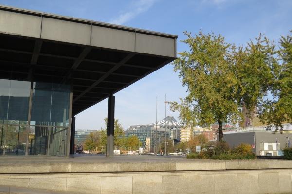 Neue Nationalgalerie und Potsdamer Platz